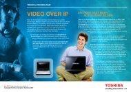 VIDEO OVER IP - Toshiba