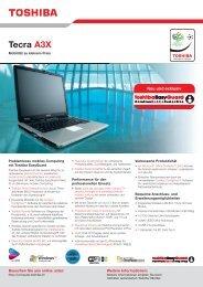 Tecra A3X - Toshiba