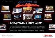 INNOVATIONEN AUS DER WÜSTE - Toshiba