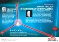 suojaa tietojasi 3d-kiihtyvyysanturin nopeudella! - Toshiba