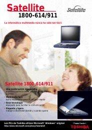 Satellite 1800-614/911 - Toshiba