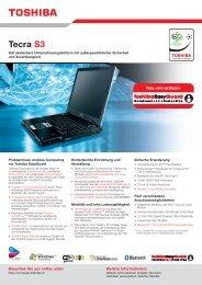 Tecra S3 - Toshiba