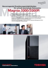 Datenblatt - Toshiba