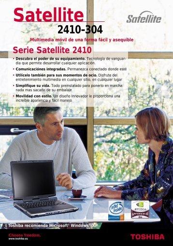 Serie Satellite 2410 - Toshiba