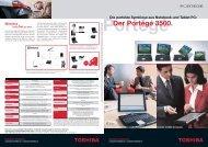 Der Portégé 3500. - Toshiba