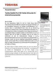 Toshiba Satellite Pro A120: Solider Allrounder für ...