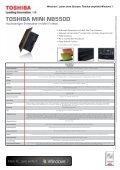 Presseinformation - Toshiba - Page 5