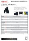 Presseinformation - Toshiba - Page 6