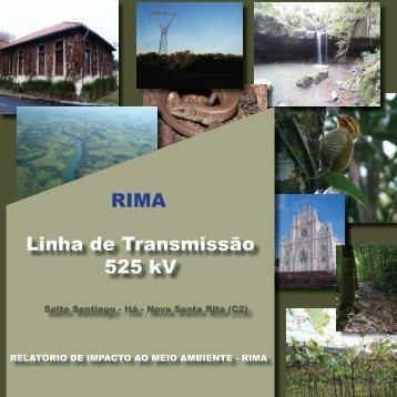 Linha de Transmissão 525 kV RIMA - Ibama