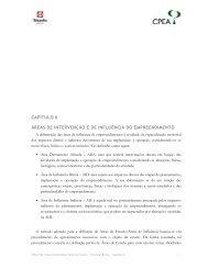 capítulo 6 áreas de intervenção e de influência do empreendimento