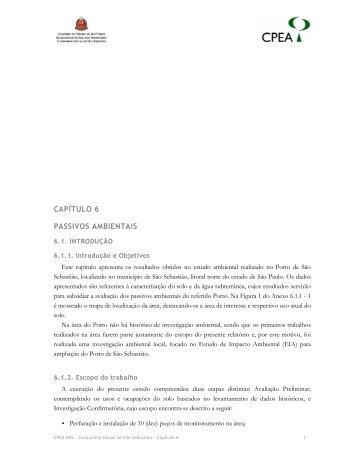 CAPÍTULO 6 PASSIVOS AMBIENTAIS