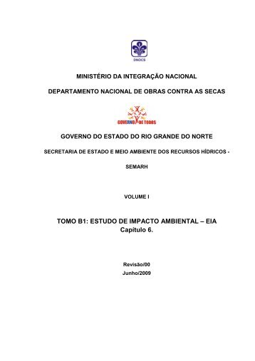 TOMO B1: ESTUDO DE IMPACTO AMBIENTAL – EIA ... - Ibama