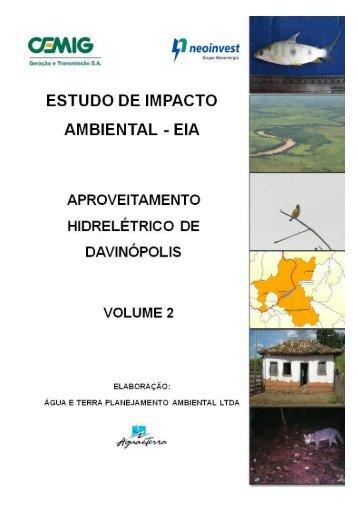 EIA – Estudo de Impacto Ambiental - AHE Davinópolis V2.1