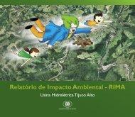 Usina Hidrelétrica Tijuco Alto - Ibama