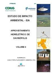 EIA – Estudo de Impacto Ambiental - AHE Davinópolis V6.1 - Ibama
