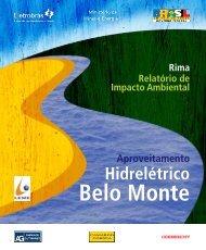 Relatório de Impacto Ambiental Rima - Belo Monte - Eletrobras