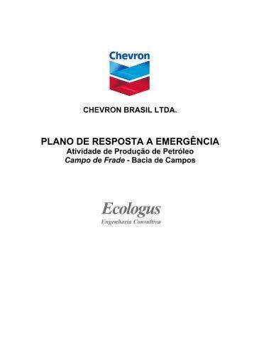PLANO DE RESPOSTA A EMERGÊNCIA - Ibama