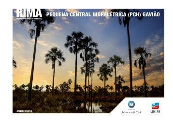 RIMA PEQUENA CENTRAL HIDRELÉTRICA (PCH) GAVIÃO - Ibama