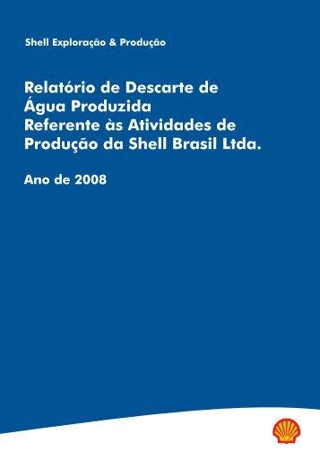 Relatório de Descarte de Água Produzida Referente às ... - Ibama