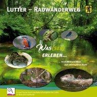 Lutter-Radwanderweg-Broschüre