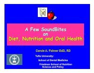 Nutrition and Oral Health - Amazon Web Services