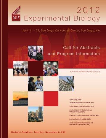 Experimental Biology - asbmb