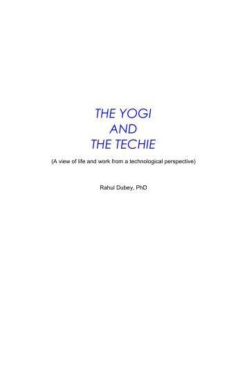 THE YOGI AND THE TECHIE - DAIICT Intranet