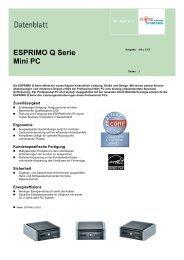 ESPRIMO Q Serie Mini PC