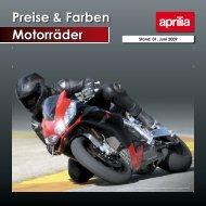 Preise & Farben Motorräder