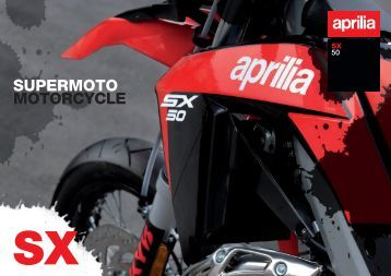 SUPERMOTO MOTORCYCLE - Aprilia