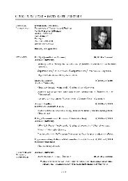 Curriculum Vitae David Sloth Pedersen - Department of Economics ...