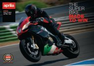 THE SUPER BIKE MADE TO WIN - Aprilia