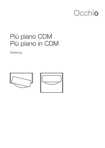 Pių piano CDM Pių piano in CDM - luxoworks