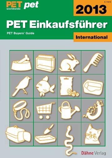 PET Einkaufsführer