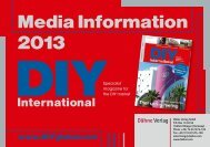 Media Information 2013 - The publishing house of Dähne. I know!