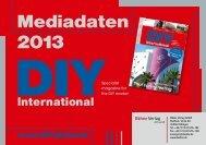 Mediadaten 2013 - DIYonline