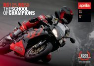 RS125 RS50 THESCHOOL OFCHAMPIONS - Aprilia