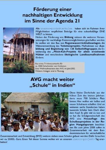 Der UNESCO-Projekttag 2005 - Auguste-Viktoria-Gymnasium Trier