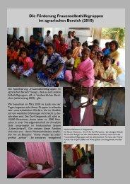Die Förderung Frauenselbsthilfegruppen im agrarischen Bereich ...