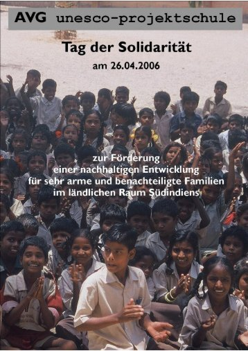 Der UNESCO-Projekttag 2006 - Auguste-Viktoria-Gymnasium Trier