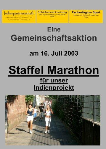 Der UNESCO-Projekttag 2003 - Auguste-Viktoria-Gymnasium Trier