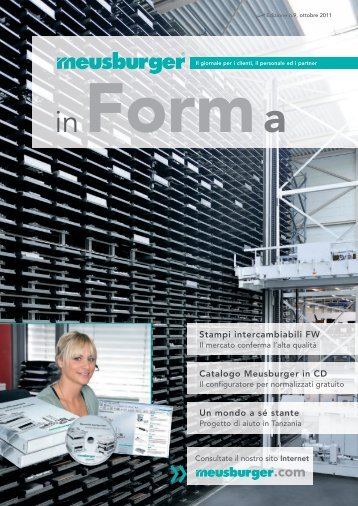 Stampi intercambiabili FW Catalogo Meusburger in CD Un mondo a ...