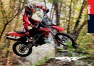 ENDURO MOTORCYCLE - Aprilia