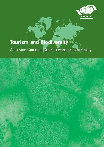 Achieving Common Goals Towards Sustainability - World Tourism ...