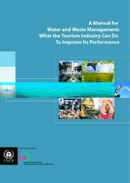 A Manual for Water and Waste Management - World Tourism ...