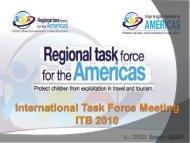 componentes del plan de acción regional - World Tourism ...
