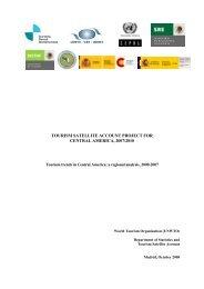 centroamrica: anlisis de coyuntura regional - World Tourism ...