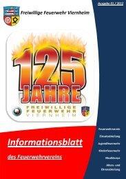 Informationsblatt - Freiwillige Feuerwehr Viernheim