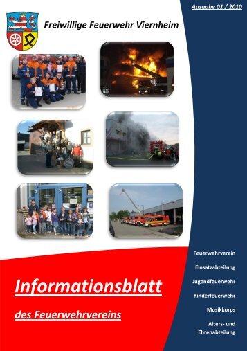 Informationsblatt - Feuerwehr Viernheim