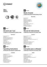 Istruzioni per l'uso Operating Instructions Mode d ... - Nakupka.cz